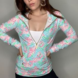 LILLY PULITZER 1/2 ZIP *limited edition* VERY SOFT